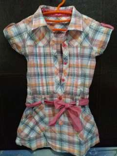Checkered Dress for Girls