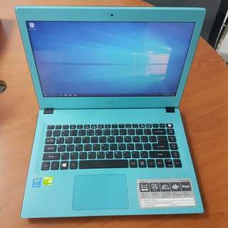 Acer Aspire E 14 Laptop For Sales