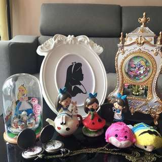 Alice in Wonderland Deco Items