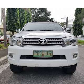 Toyota Fortuner 2011 G Automatic Diesel