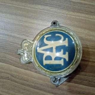 RAC vintage emblem