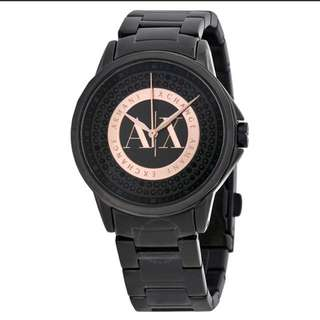 AX 4323 black and rose women's watches