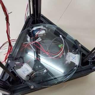 3D 打印機架 配  步進馬達
