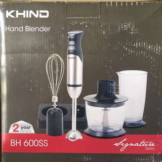 PRICE REDUCE KHIND hand blender