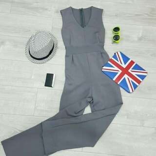 LW - Grey elegant jumpsuit