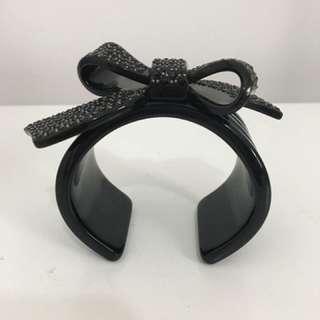 Black Mimco Bow Cuff/Bracelet