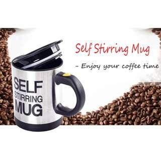 Automatic Electric Lazy Self Stirring Mug Automatic Coffee Cup Milk Mixing