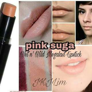 Wet n' Wild Megalast Lipstick - Pink Suga