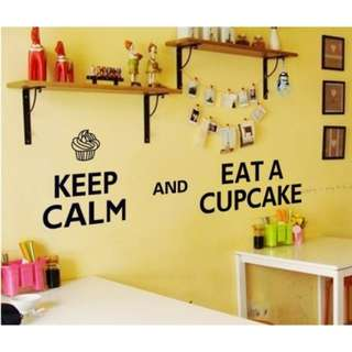 Wall stiker keep calm 60x90