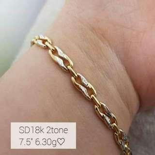 Saudi Gold 18kt Bracelet