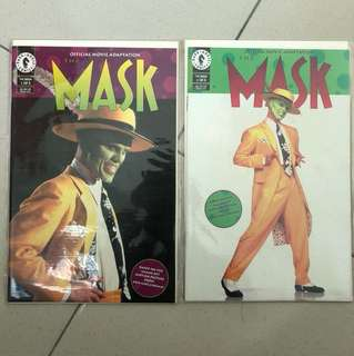 MASK MOVIE COMIC BOOK.
