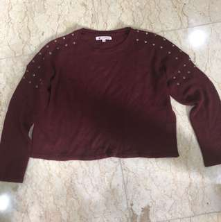 Colorbox Maroon Sweater
