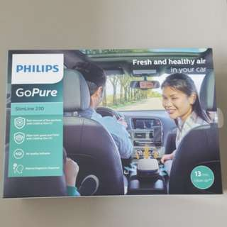 Premium Model Philips Car Air Purifier GoPure SlimLine230