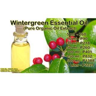 Wintergreen Essential Oil (Pure Organic Oil Extract)