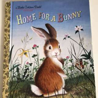 Home For A Bunny - Little Golden Book