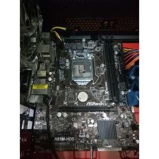 ASROCK H81M-HDS LGA1150 Motherboard