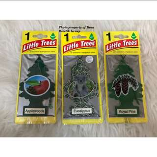 Little trees car freshener eucalypthus, applewoods & Royal pine