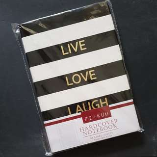 Live. Love. Laugh Notebook