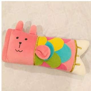 Craftholic 超可愛鯉魚小抱枕(粉紅) 日本購入