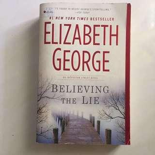 Believing in Lie by Elizabeth George novel