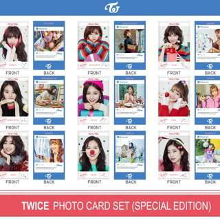 Twice Unofficial Photocard Sets