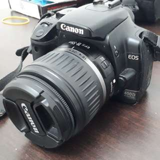 Canon 400D and 18-55mm lens