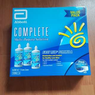 Complete Multi-purpose  contact lens solution