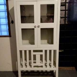 Gobok Antik / Almari Antik / Display Cabinet