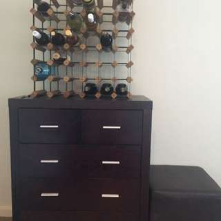 Tollboy chest of drawers