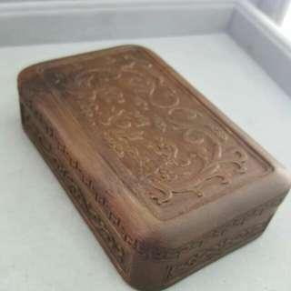 竹~雙龍爭珠方盒