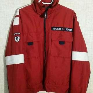 Vintage 90s Tommy Hilfiger Jeans Fleece Lined Jacket