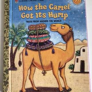 How The Camel Got It's Stripes - Little Golden Book