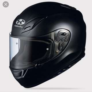 Kabuto Aeroblade-3 Matt Black Full Face Helmet