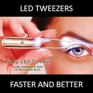 ★[NEW] SALE★ Handy LED Tweezers: Provides Illumination for Better and More Accurate Results.