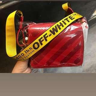 OFF WHITE MESSENGER BAG