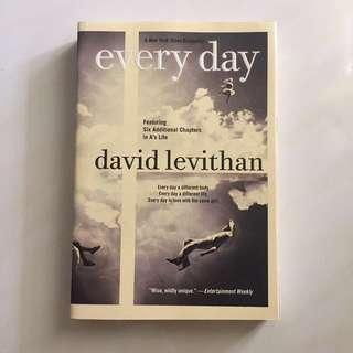 Everyday by David Levithan novel