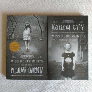 Miss Peregrine's Book Set
