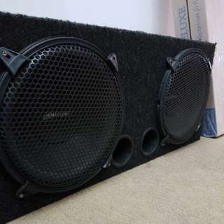 Subwoofer for car 2x12 inche