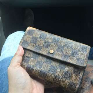 Authentic LV Ebene Damier Wallet (just came out from BagSpa)