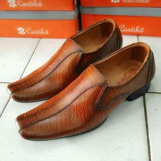 Sepatu Pantofel Kulit Pria Persada Kode 6019