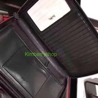Authentic Coach men Wallet clutch purse Coin bag
