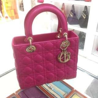 Dior lady 糖果粉 🍭金扣🔥
