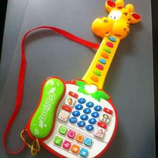 Giraffe Guitar Phone Toy
