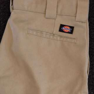 30x32 DICKIES 873 Slim Straight Pants- KHAKI