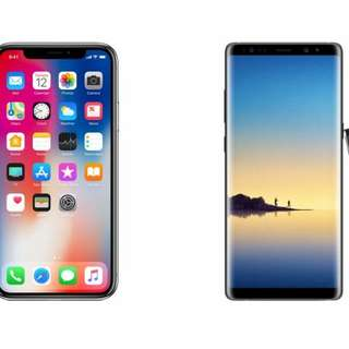 Looking for note 8 or Iphone X