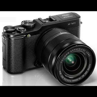 Fuji X-M1 XC16-50mm Kit