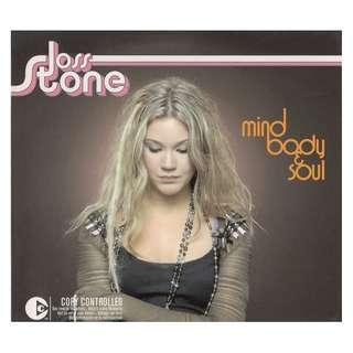 Joss Stone: <Mind Body Soul> (2004 CD) (W/Outer Slipcase)
