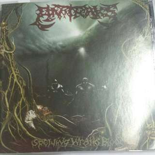 Music CD (Metal): Antraks – Spewing Wrath Blood - Indonesian Death Metal Band