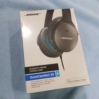 Bose Quietcomfort 25 ( New )