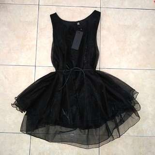 Dress mirror hitam simple